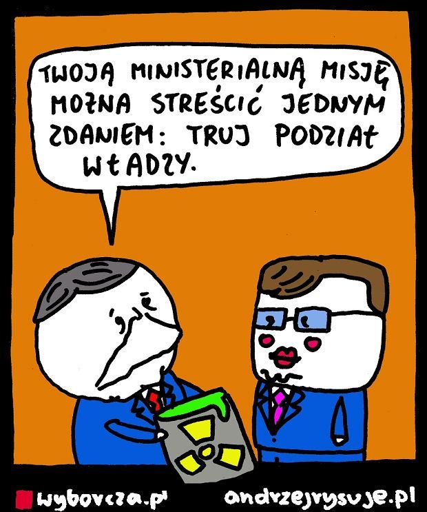 Andrzej Rysuje | Reforma sądownictwa - Andrzej Rysuje, 16.04.2017 -
