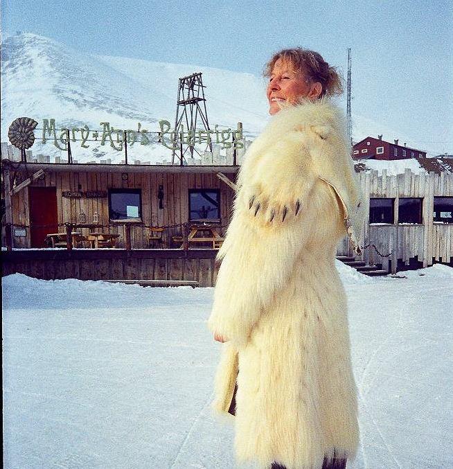 Mary-Ann Dahle zaczyna�a jako sprz�taczka. Teraz jest w�a�cicielk� popularnego hotelu na Spitsbergenie