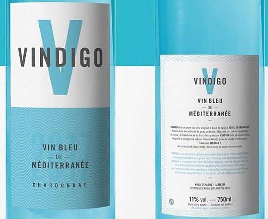 Pierwsze w 100 procentach naturalne niebieskie wino już trafiło do sprzedaży we Francji