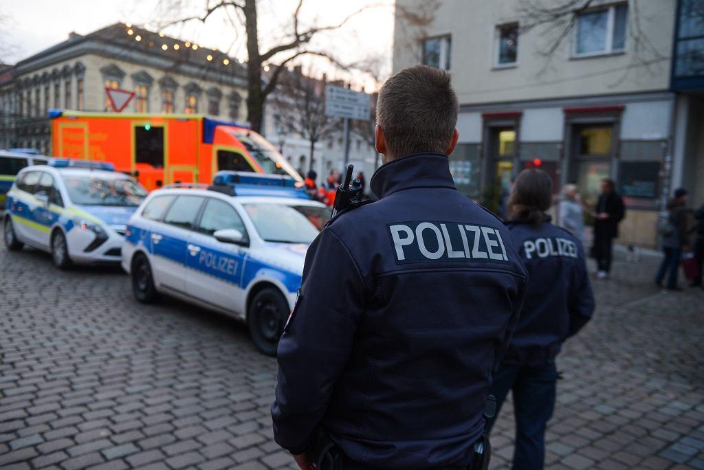 Policja bada podejrzaną przesyłkę w Poczdamie