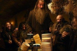 Bilbo, krasnoludy i buttered scones