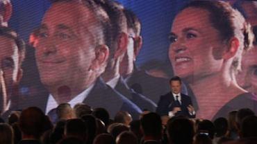 Podczas warszawskiej konwencji wyborczej w barwach Koalicji Obywatelskiej zadebiutowała Barbara Nowacka