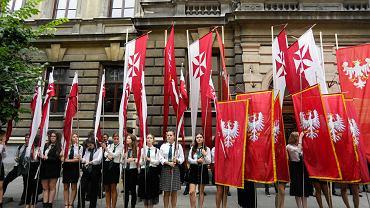 Jubileusz 135-lecia II LO, z udziałem prezydenta Andrzeja Dudy i Agaty Kornhauser-Dudy