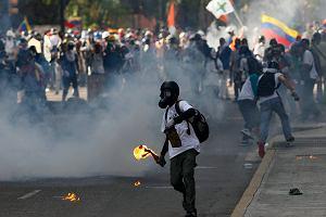 Wenezuela tonie w zamieszkach. 50. dzień protestów przeciw reżimowi prezydenta