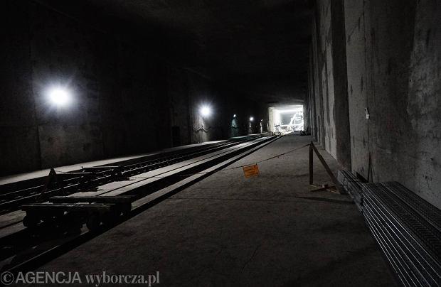 Dworzec Łódź Fabryczna - tunel