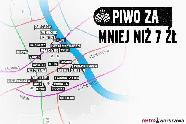Tanie Piwo w Warszawie