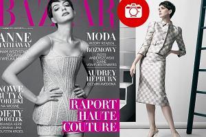 """Anne Hathaway na ok�adce polskiego """"Harper's Bazaar"""". Aktorka z podniesion� g�ow� deklaruje, �e ma wszystko: Oscara i wielk� mi�o�� [ZDJ�CIA]"""