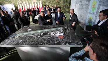 Przejęcie spółki Port Lotniczy Radom przez państwowy PPL. Na uroczystość na radomskim lotnisku przyjechał premier Mateusz Morawiecki