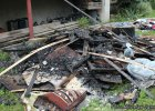 58-latek w czasie awantury z �on� podpali� dom