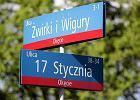 Absurdy z nazwami ulic w Warszawie. Gdzie jest skrzy�owanie trzech ulic Poczty Gda�skiej?