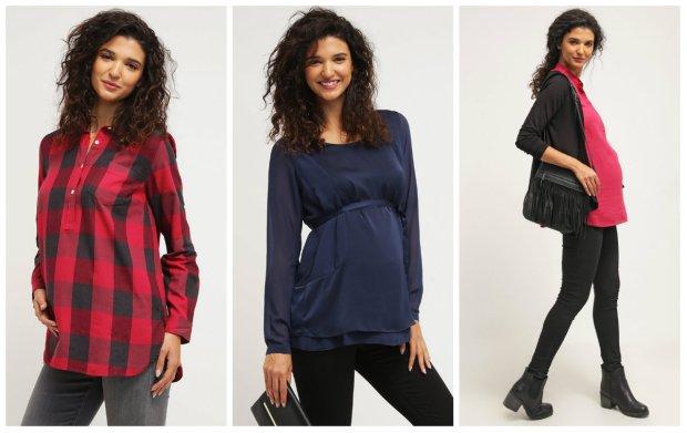 4102ee1a1d Bluzki i tuniki dla przyszłych mam. Przegląd jesiennych nowości