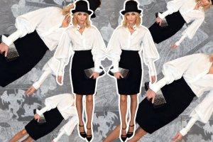 Stylizacja na celowniku - Anja Rubik - zobacz jak wygl�da�a top modelka na imprezie Chanel w Londynie