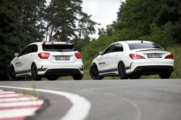 Mercedes A45 AMG & CLA45 AMG
