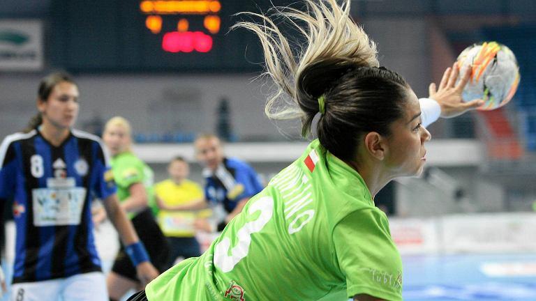 LM. MKS Selgros - Buducnost Podgorica 23:31. W akcji Jessica Quintino