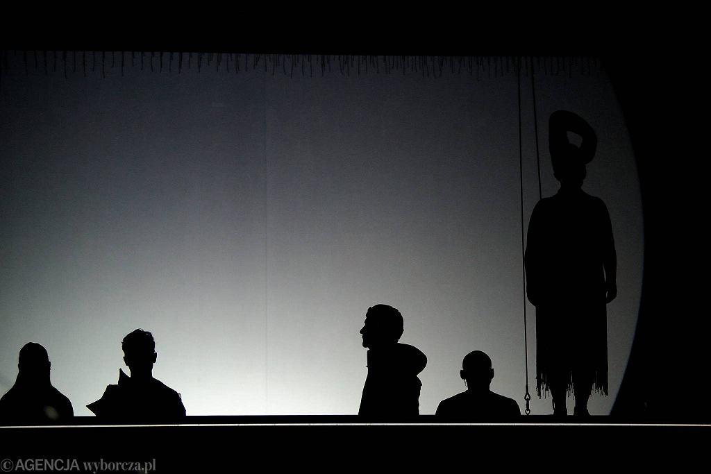 Próba prasowa spektaklu Yemaya Królowa Mórz w Teatrze Lalek   / TOMASZ PIETRZYK