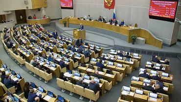 Głosowanie w rosyjskiej Dumie