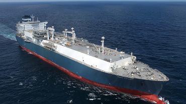 Pływający gazoport 'Independence' zbudowany w stoczni koreańskiego koncernu Hyundai Heavy