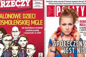 """Najch�tniej kupowane: """"Go�� Niedzielny"""" i """"Polityka"""". """"Do Rzeczy"""" o 40 proc. w d�"""