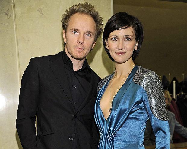 Jacek Borcuch i Ilona Ostrowska