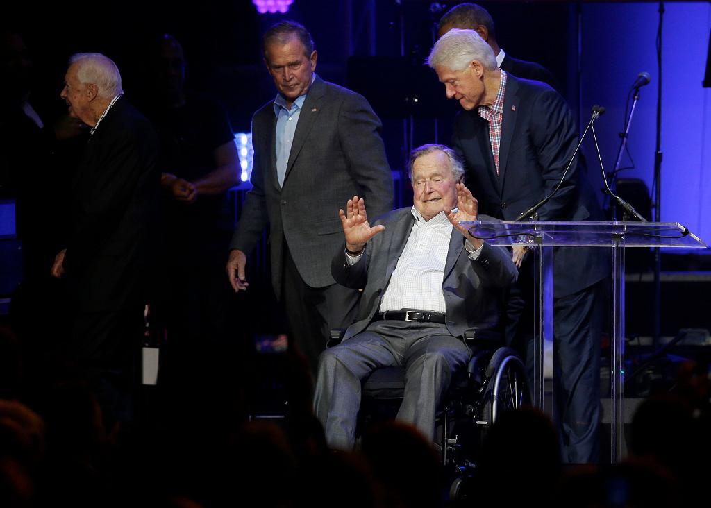 Barack Obama, George H.W. Bush, George W. Bush, Jimmy Carter, Bill Clinton