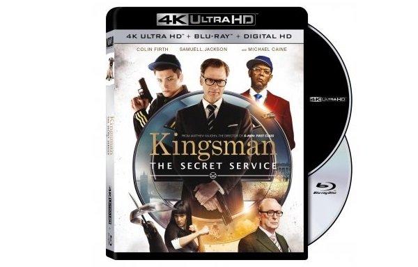 Kingsman na Ultra HD Blu-Ray