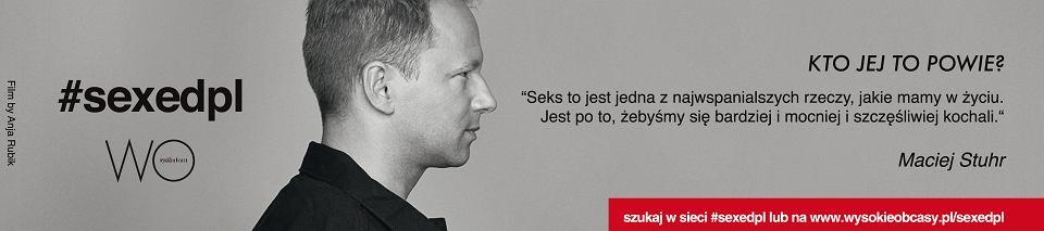 Maciej Stuhr #sexedpl by Anja Rubik