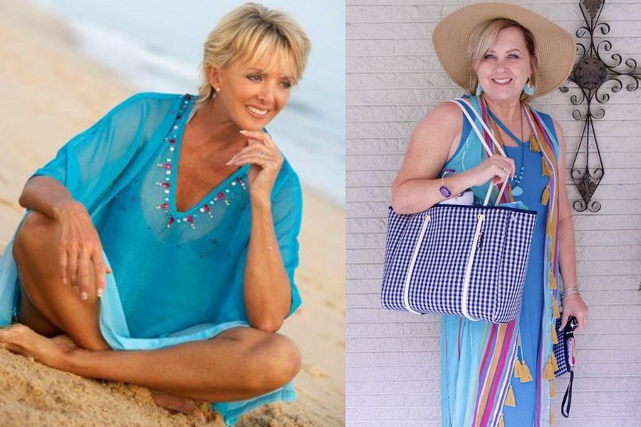 c4178651d3 Sukienki plażowe dla dojrzałych kobiet  niedrogie i ładne modele na ...