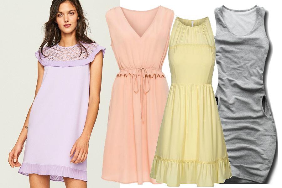 Sukienki pastelowe do 100 zł