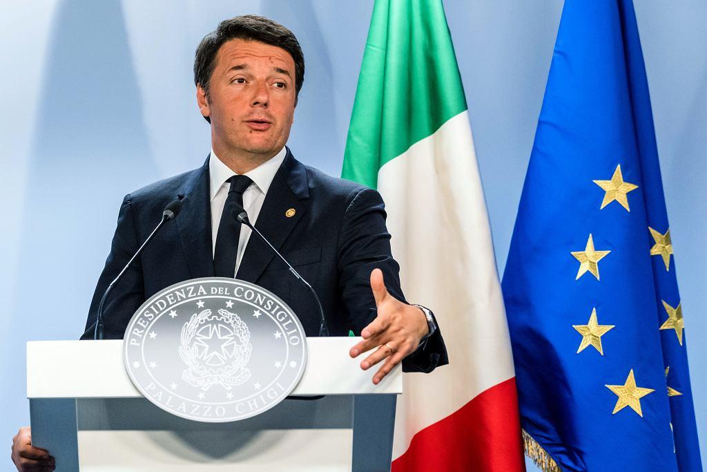 Matteo Renzi, premier Włoch