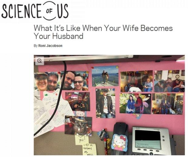 Gdy żona staje się mężem