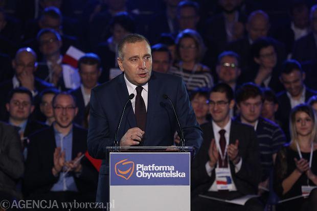 Og�oszenie wynik�w wybor�w nowego przewodnicz�cego PO