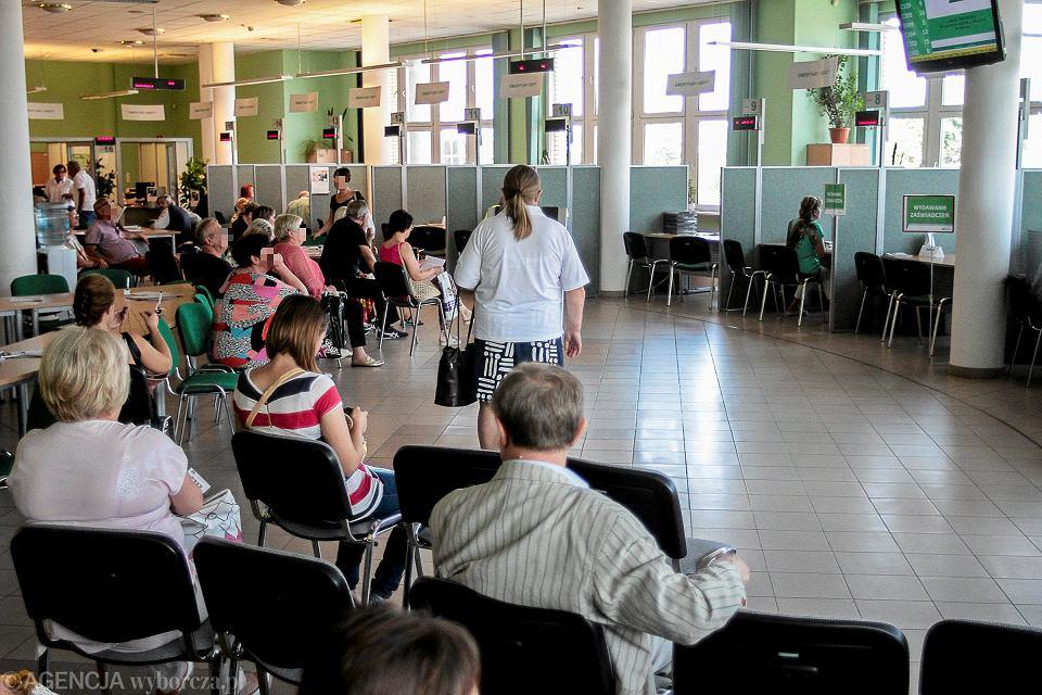 1 września 2017, Kielce. ZUS.