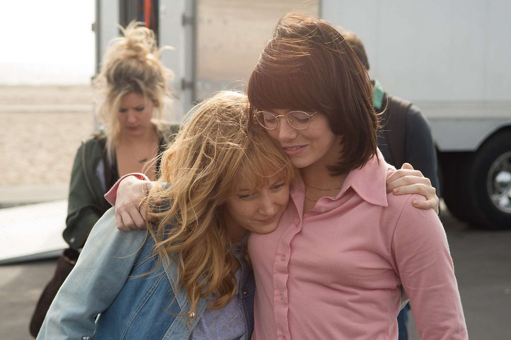 Emma Stone i Andrea Riseborough w filmie 'Wojna płci' / Dale Robinette / 2017 Twentieth Century Fox Film Corporation All Rights Reserved