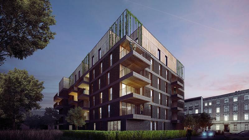 Wizualizacja inwestycji 'Apartamenty Zygmunta'