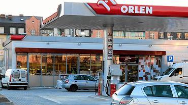Stacja paliw Orlen w Płocku