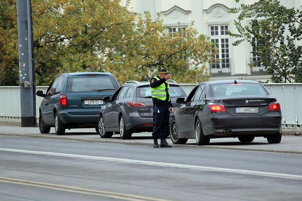 Trasa W-Z: straż miejska przepuszcza kierowców