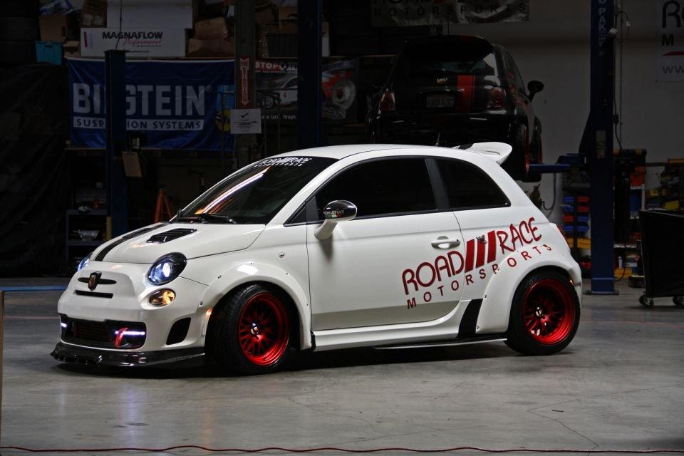 Road Race Motorsports Abarth 500