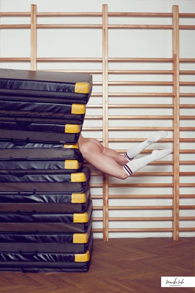 Zdjęcie numer 20 w galerii - Rozebrane atletki. Naga fotografia sportowa Dominiki Cuda