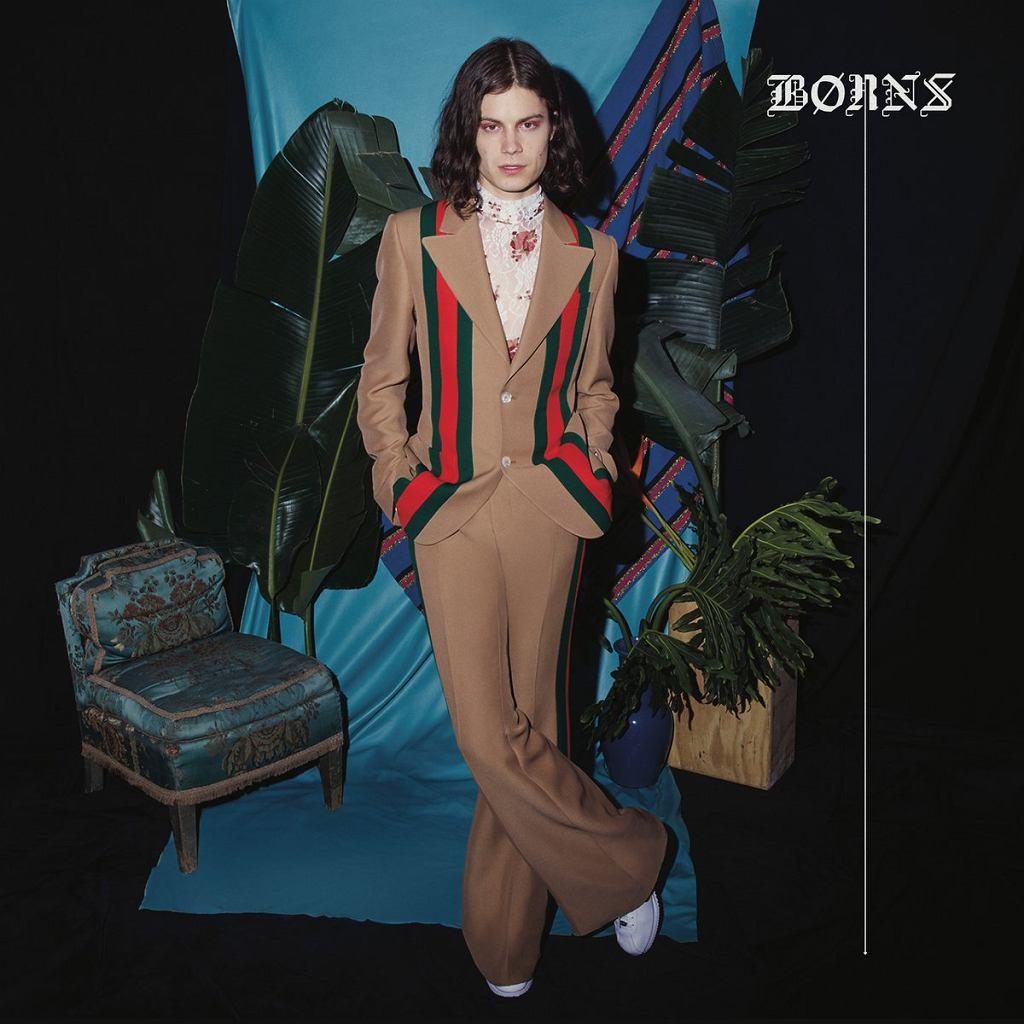 B?rns - okładka płyty 'Blue Madonna' / materiały prasowe