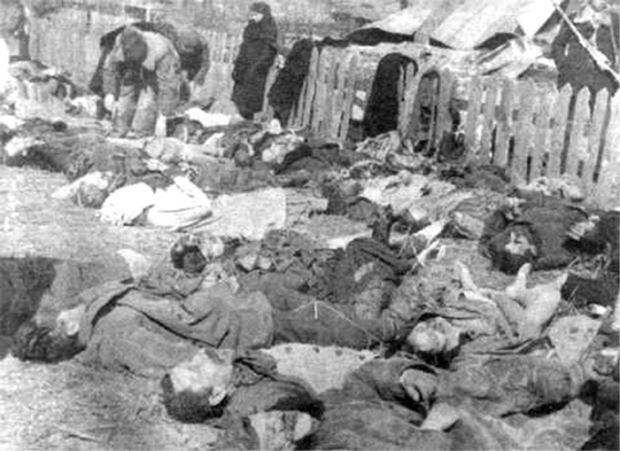 Polacy zamordowani we wsi Lipniki