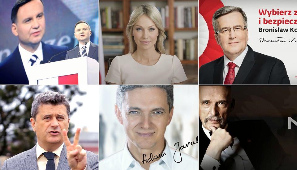 Spoty wyborcze kandydatów na prezydenta RP