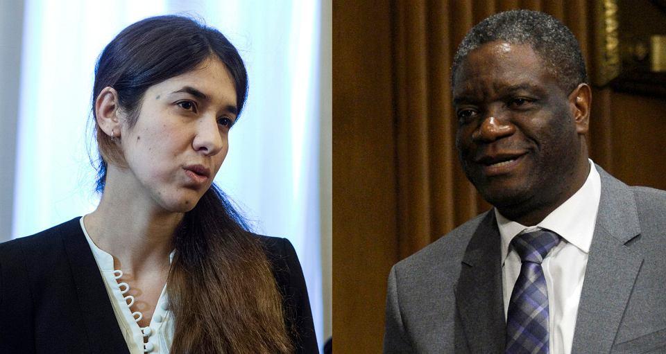 Nadia Murad i Denis Mukwege