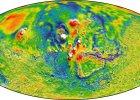 Mapa marsjańskiej grawitacji i inne ciekawostki naukowe