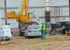 Śmiertelny wypadek na budowie centrum handlowego. Nie żyje 58-latek