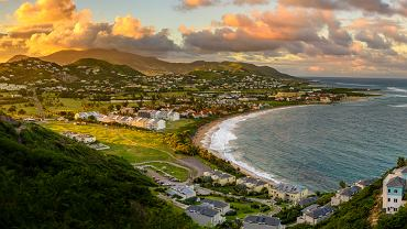 Widok na Saint Kitts