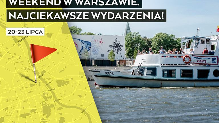 Wydarzenia w weekend w Warszawie