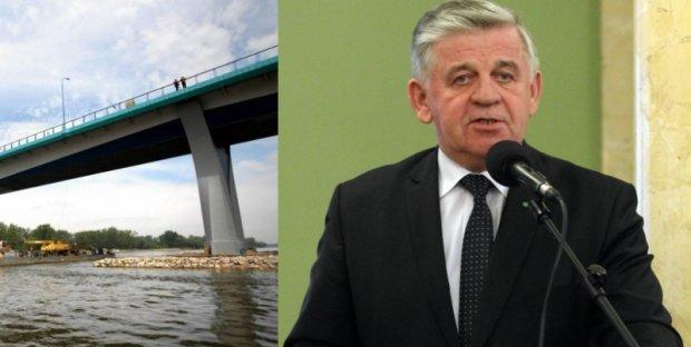 """Nowy most na Wi�le. Otwarcie bez wst�gi i oficjeli. """"Przez wybory"""""""