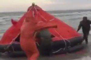 Ukraina: katastrofa statku na Morzu Czarnym. Zginęło 12 osób
