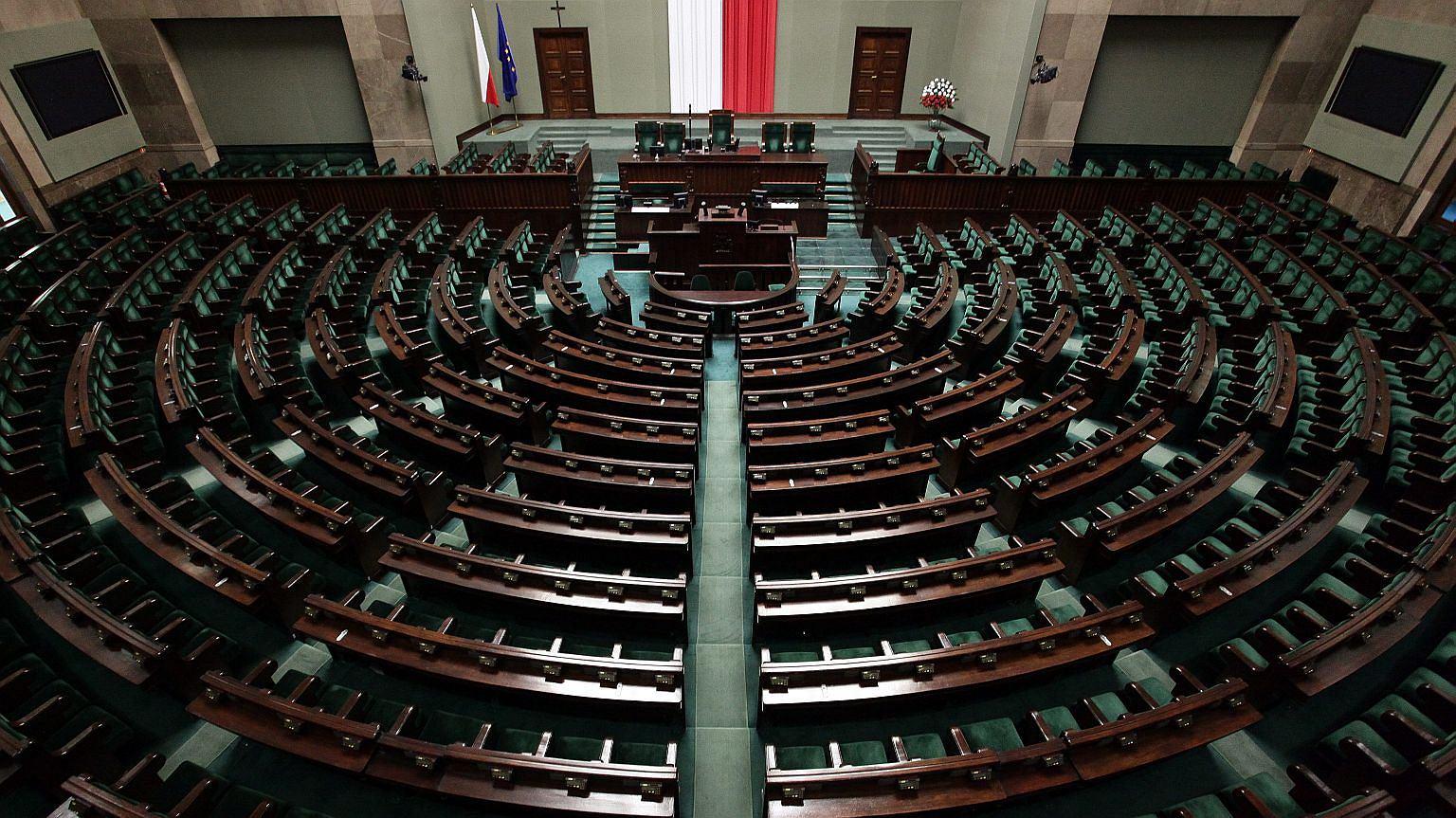 Sejm, ul. Wiejska w Warszawie