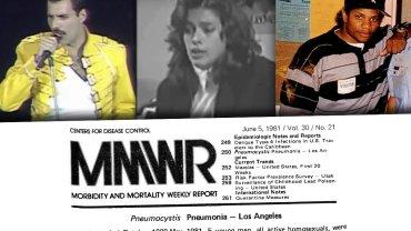 5 czerwca 1981 roku opisano pierwsze przypadki choroby znanej dziś jako AIDS